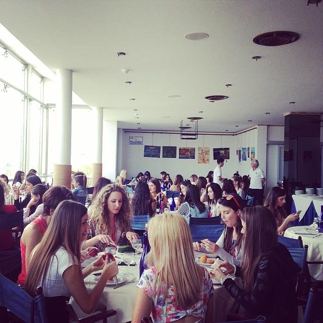 Miss Mondo Italia 2014. A pranzo