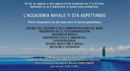 locandina CONCORSO ACCADAMIA NAVALE