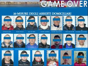 arresti taranto game over