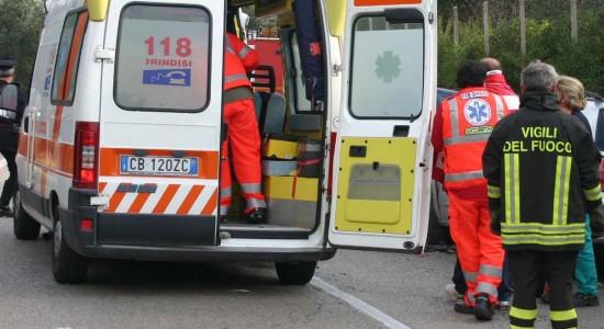 ambulanza - 118- incidente