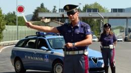 GERMOGLI PH - 20-07-03- AUTOSTRADA A1 . AUTOVELX POLIZIA STRADALE