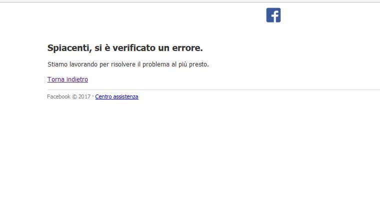 Facebook down venerdì 13 gennaio! Non funzionano foto e profili