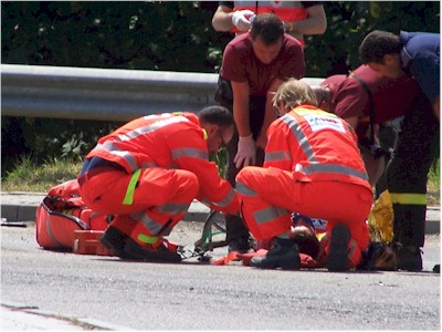 Schianto sulla statale 100: 2 morti e 3 feriti