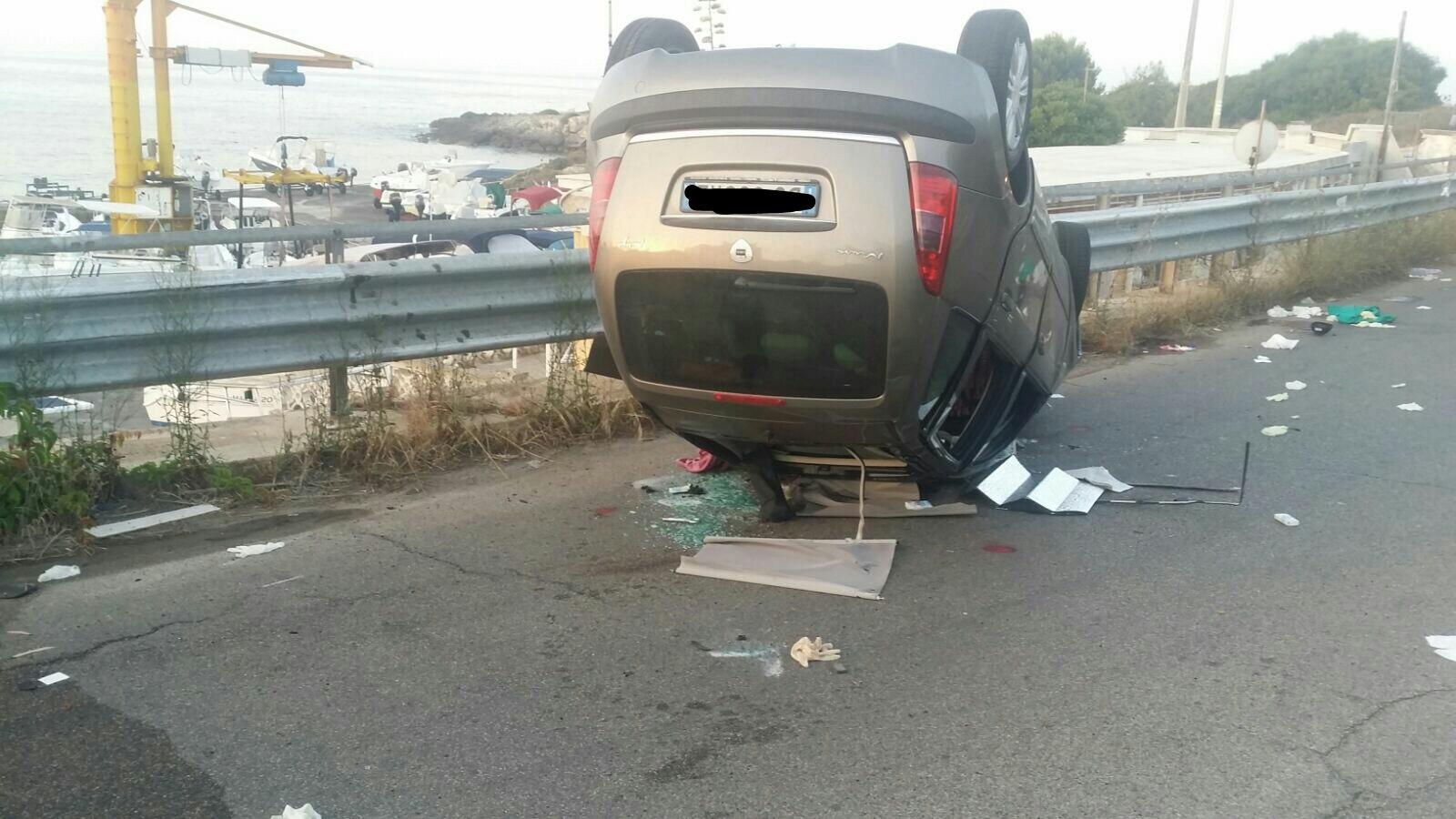 L'auto si ribalta, muore un ragazzo di 23 anni