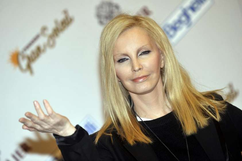 Patty Pravo in Salento: cade e si lussa una spalla