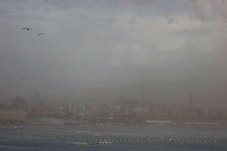 Il wind day chiude le scuole di Taranto