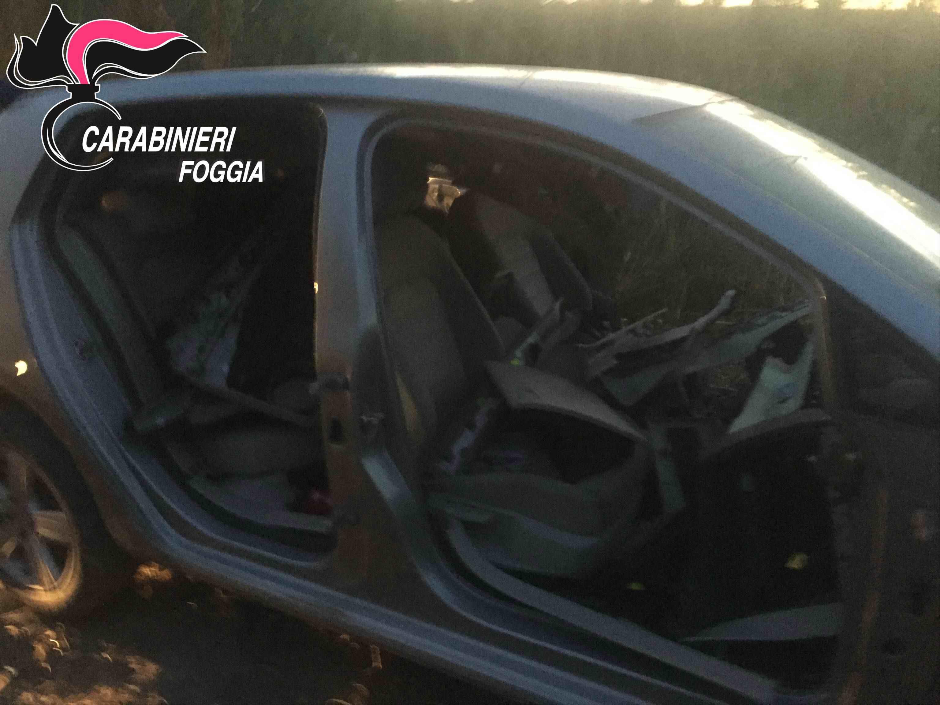 Foggia Sorpreso A Smontare Delle Automobili Rubate Arrestato Dai