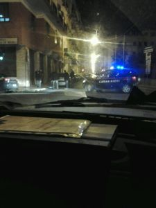 Ore 23.30 via Leonida, si spara per la terza volta