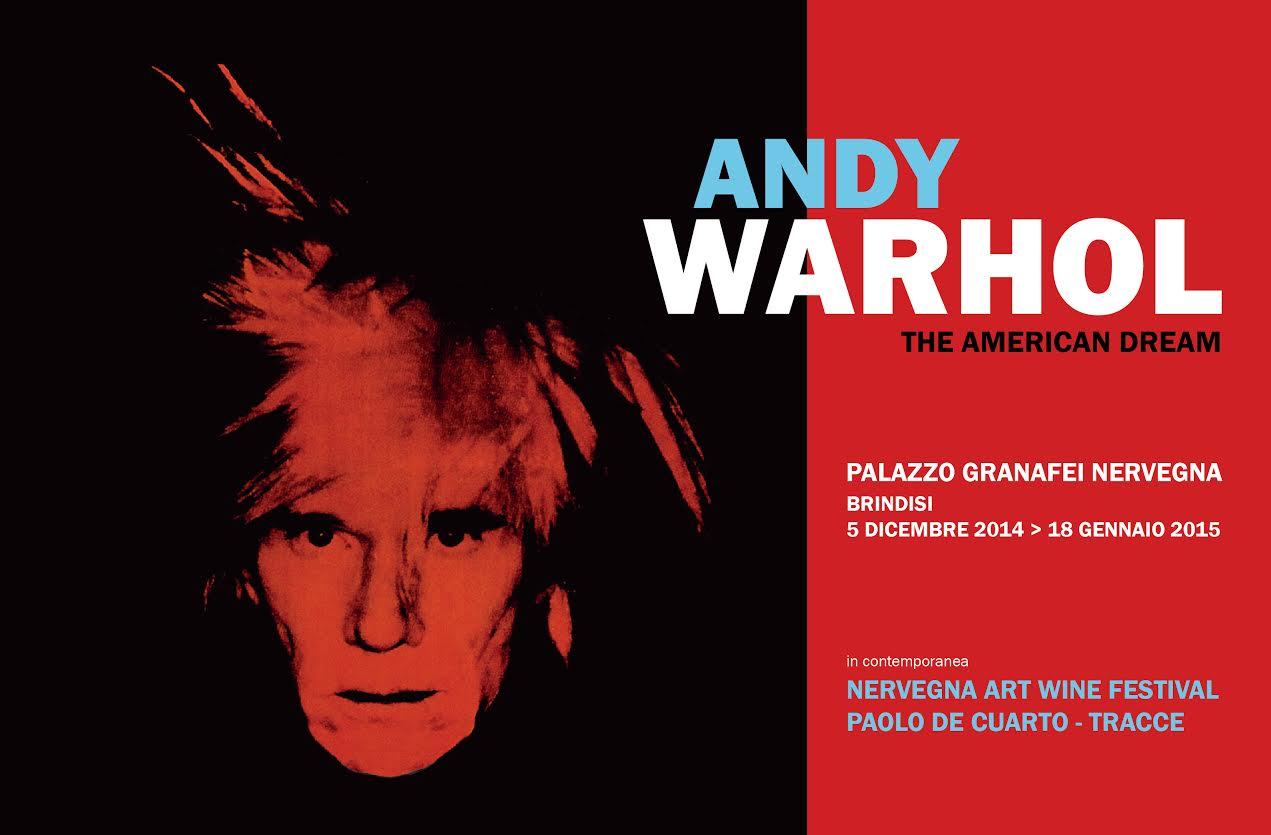 """Estremamente Brindisi: Presentata la mostra di Andy Warhol titolata """"The  QM53"""