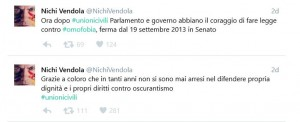 Nichi vendola unioni civili