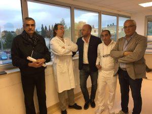 sopralluogo ospedale Castellaneta