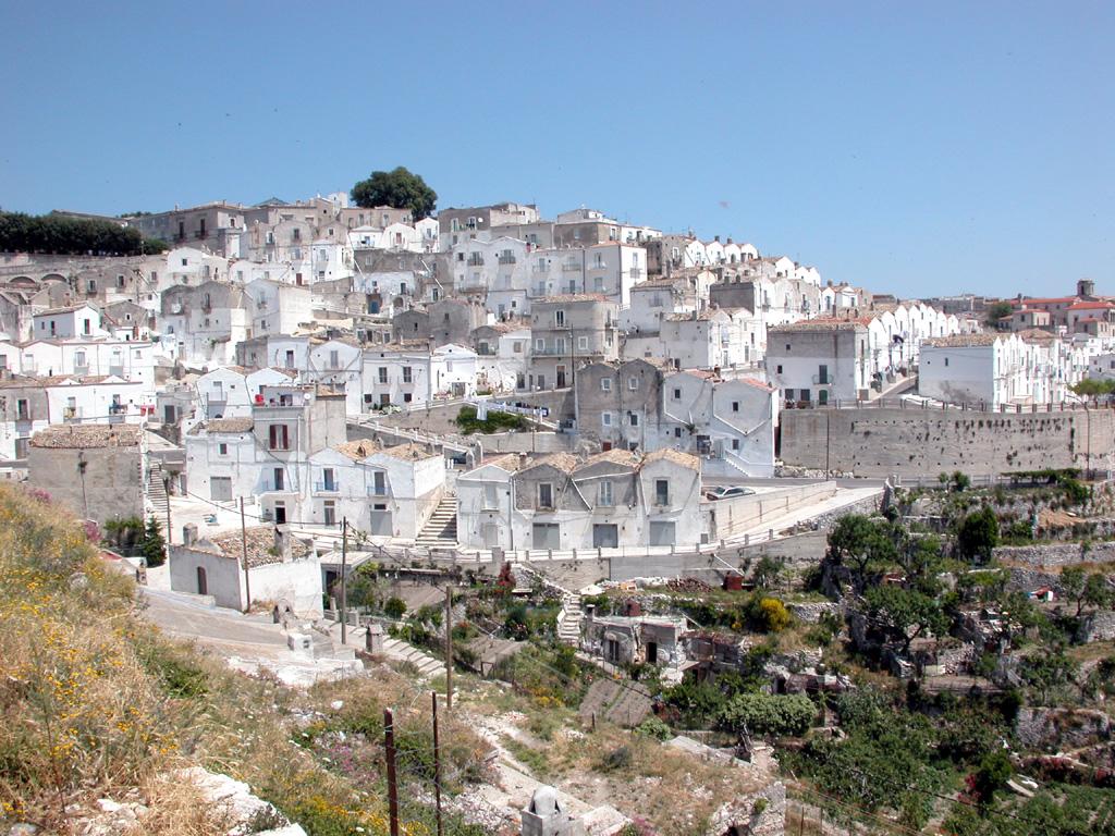 Panorama di Mattinata.