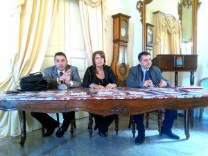 da sinistra: Antonio Rubino, Gina Lupo, Mimmo Cotugno