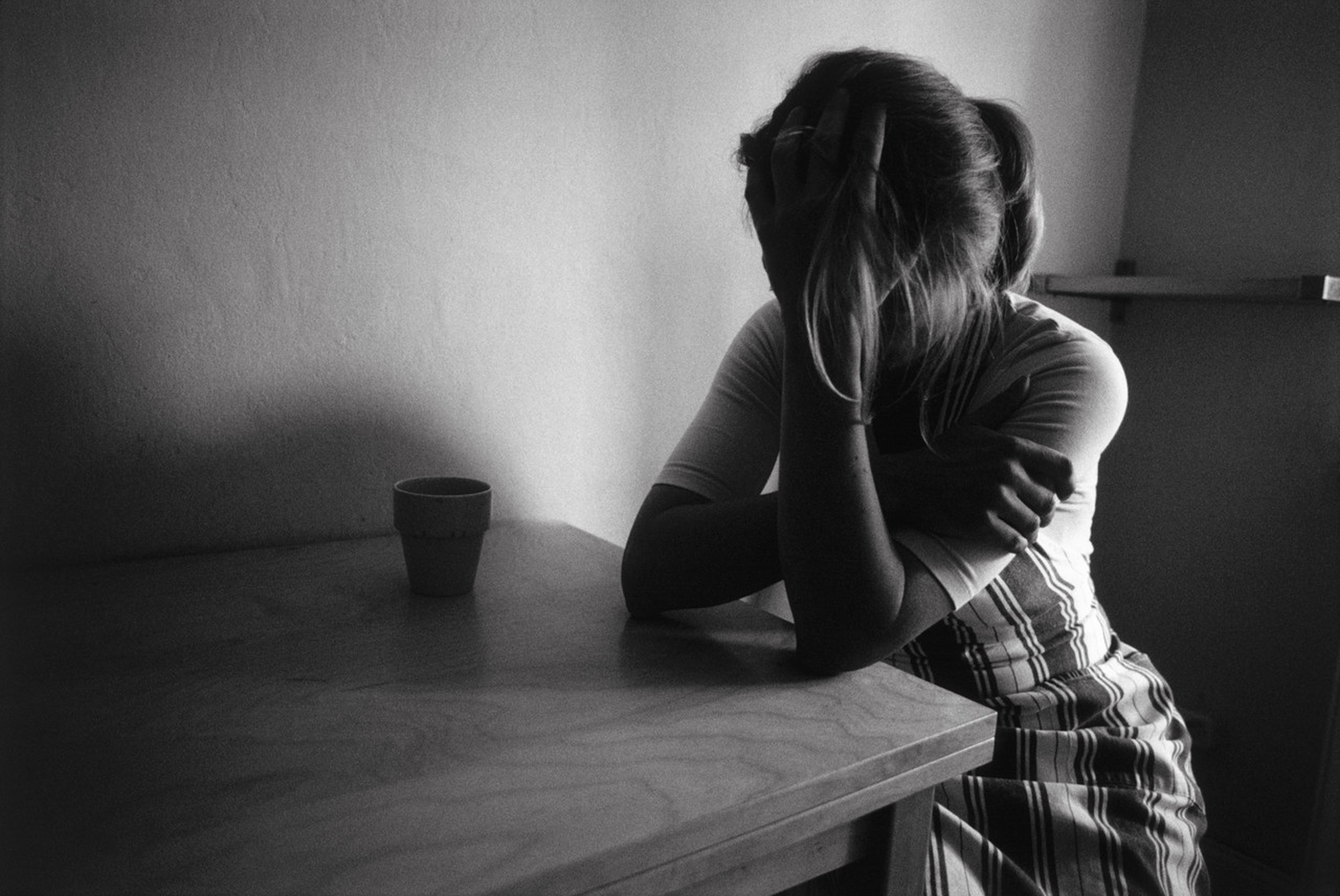 Одиночество слезы картинки
