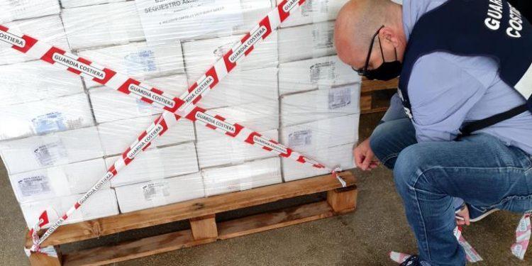 Brindisi Sequestrata Mezza Tonnellata Di Prodotti Ittici Pugliapress Quotidiano Online